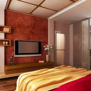 中式风格卧室效果图片