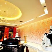 180平米大型欧式奢华风格连锁婚纱店装修效果图