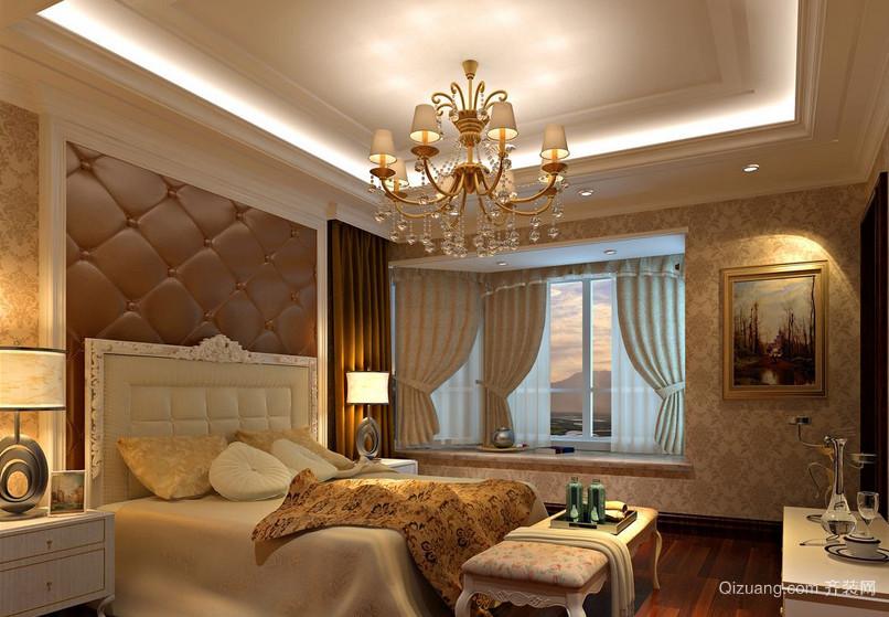 2016精致的欧式单身公寓卧室装修效果图鉴赏