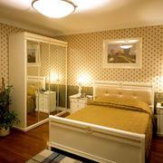 暖色调卧室效果图片