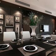时尚风格背景墙设计