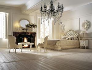 欧式建筑小别墅奢华卧室装修效果图