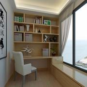 复式楼雅致书房设计装修效果图