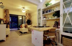 118平米宜家风格客厅塑料储物柜效果图