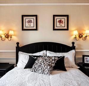 120平米温馨色调卧室装修效果图