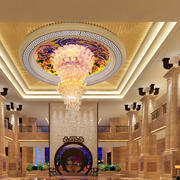酒店欧式奢华风格大堂装饰