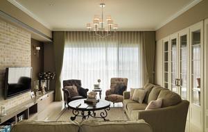 美式风格别墅飘窗装饰
