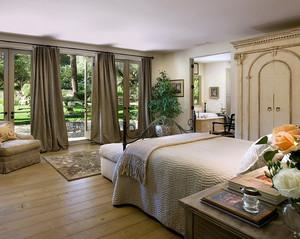 三室一厅美式田园风格卧室装修效果图