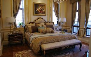 法式风格卧室背景墙装饰