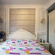 现代室内床头背景墙