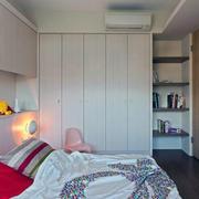 40平米小户型简约甜美卧室装修效果图