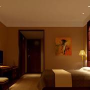 深色调宾馆效果图片