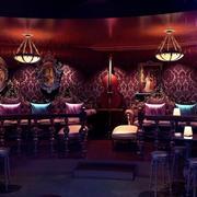 欧式酒吧背景墙装饰