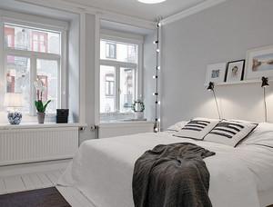 交换空间小户型北欧简约风格卧室装修设计