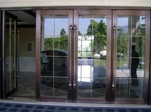 不锈钢玻璃门图片效果图