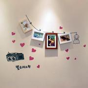 现代室内照片墙设计
