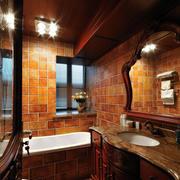 美式别墅卫生间吊顶装饰
