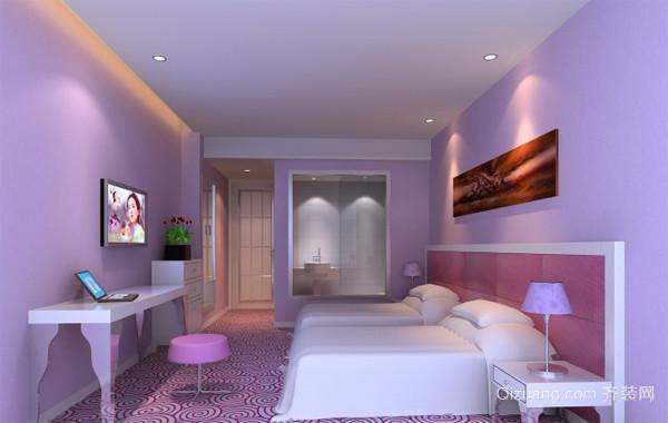 十层时尚风格宾馆装修效果图