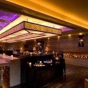 现代大户型酒吧吧台装修装饰设计效果图