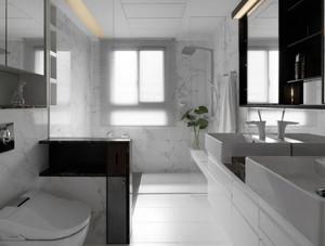 3室1厅大型后现代风格卫生间装修效果图