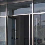 现代风格不锈钢玻璃门效果图片