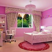 暖色调窗帘设计图