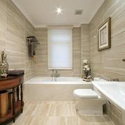 公寓简欧风格卫生间瓷砖装饰