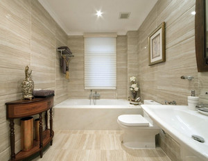 小型单身公寓简欧风格卫生间装修效果图