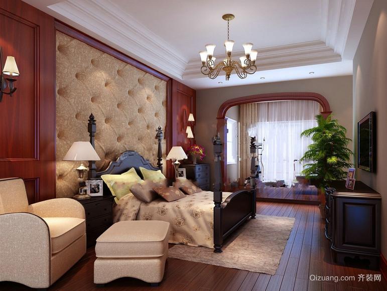 100平米欧式大户型唯美的房屋卧室装修效果图