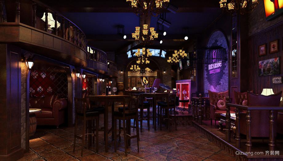 2016古典欧式酒吧装修装饰设计效果图