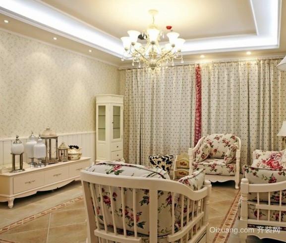 90平米交换空间小户型韩式简约风格客厅设计
