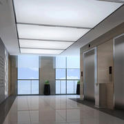 写字楼简约风格走廊装饰