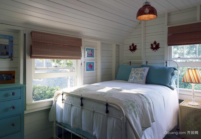 40平米小户型简约风格卧室装修设计图