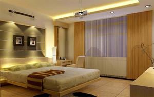 90平米大户型欧式大方的卧室床头背景墙装修效果图