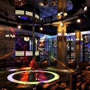200平米都市风格主题酒吧设计效果图