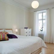小户型北欧卧室灯饰装饰