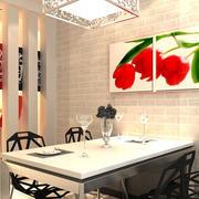 时尚风格餐厅效果图片
