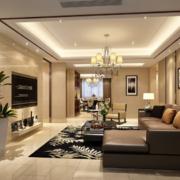 90平米现代欧式大户型家庭卧室装修效果图
