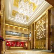 酒店奢华大气前台装饰