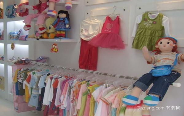 设计精巧儿童服装店装修效果图