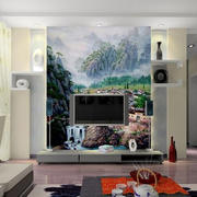 二居室宜家风格壁画设计效果图片
