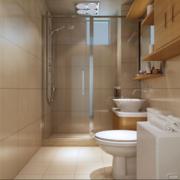 60平米小户型精美欧式小卫生间装修效果图鉴赏
