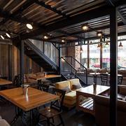欧式酒吧大型桌椅装饰