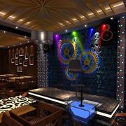 个性音乐酒吧舞台装修装饰设计效果图
