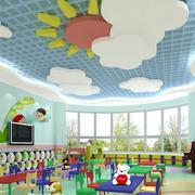 幼儿园大型创意吊顶装饰