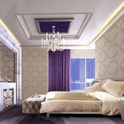 交换空间小户型欧式简约风格卧室装修效果图