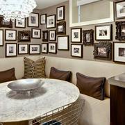 后现代风格照片墙装饰