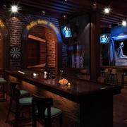 欧式酒吧拱形门装饰