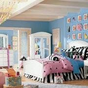 清新靓丽小户型家居卧室塑料门帘图片