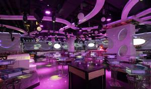 豪华型主题酒吧设计装修效果图